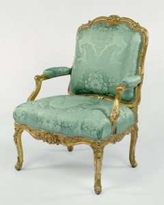 French Armchair 1750-55