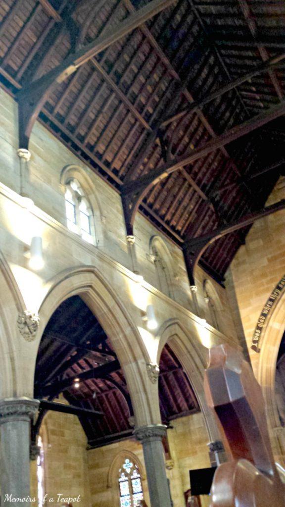 Gothic Church Ceiling