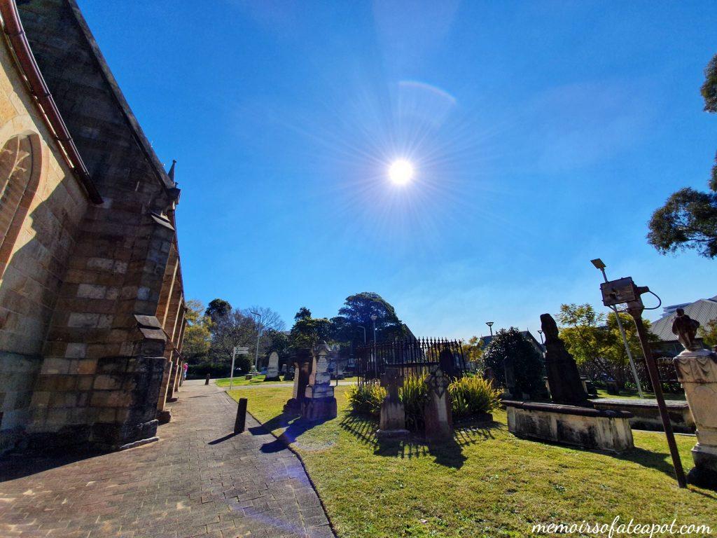 St Anne's Church Ryde, Graveyard