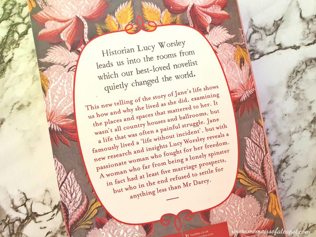 Jane Austen at Home Blurb