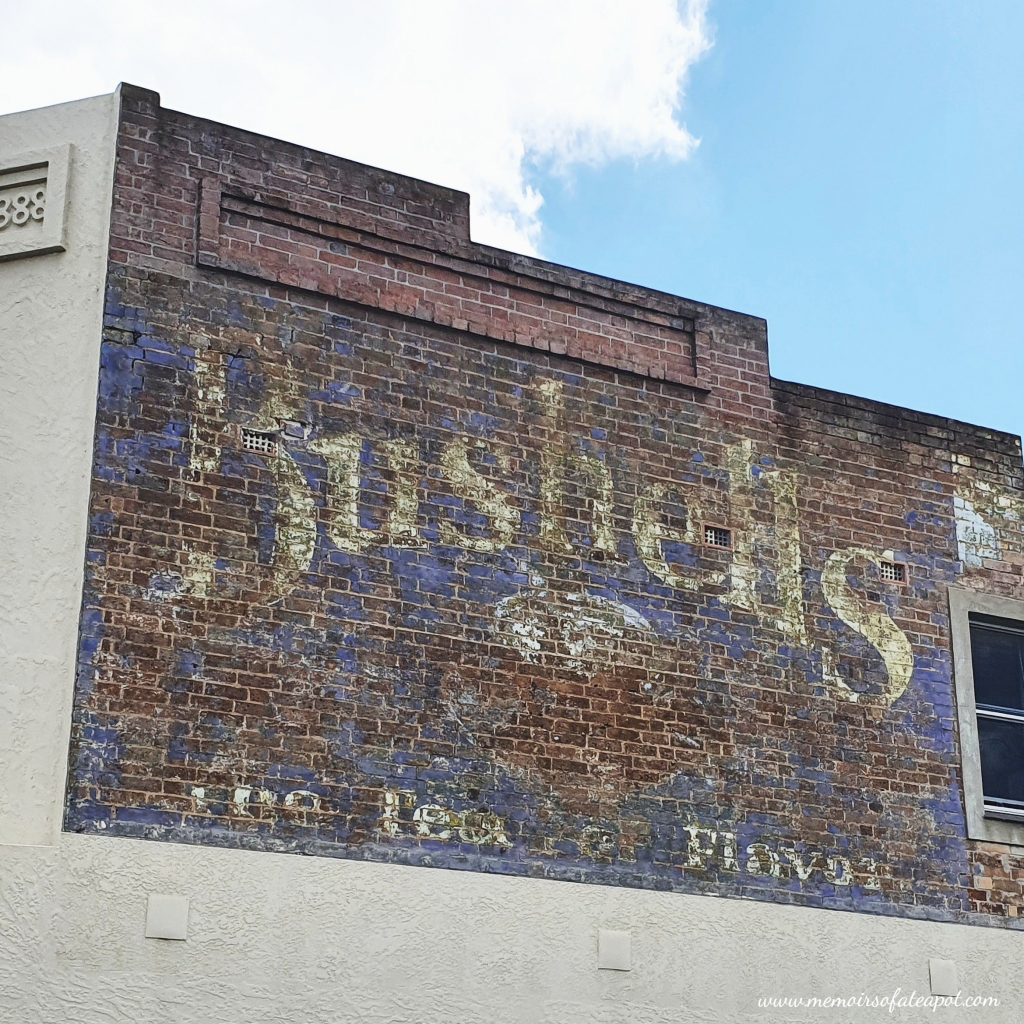 Bushell's Tea Ghost Sign